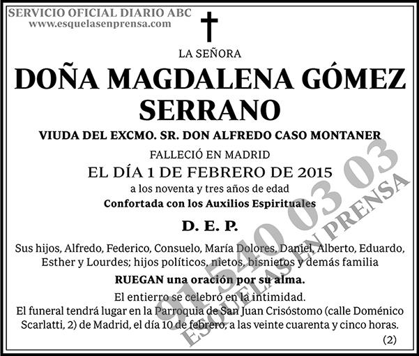 Magdalena Gómez Serrano